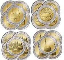 Germania 2 euro, 13 sets Comme. 2006 2007 2008 2009 2010 2011 2012 2013 2014 UNC