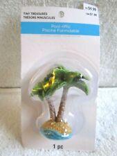 Celebrate It Tiny Treasures Pool-riffic Double Palm Trees Miniature - Nip