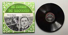 Ref1078 Vinyle 33 Tours Au Jardin Du Souvenir Chez Les Tziganes L'immortel Carus