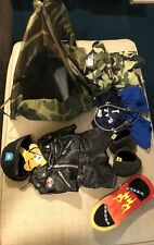 BUILD A BEAR Lot of Clothing, Accessories - Harley Davidson, Camo, Tent