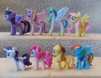 Full Set My Little Pony Finders Keepers Toys Figures MLP FiM Adult Displayed