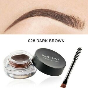 💙High Quality Dipbrow Eyebrow Pomade Eye Brow Makeup Duo Brush UK💙