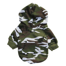 Pet Hoodie Coat Dog Jacket Winter Clothes Puppy Sweater Clothing Apparel Camo PT