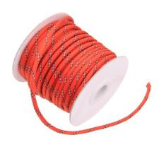 20m 5mm Reflective Guy Line Cord Outdoor Camping Canopy Tent Paracord Rope