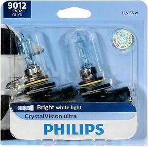 Philips 9012CVB2 White Ultra CrystalVision HIR2 Light Bulb 2 PACK, GERMANY