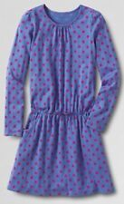 LANDS' END DRESS NEW Size: S (4) Little Girl Knit Long Sleeve FREE SHIPPING