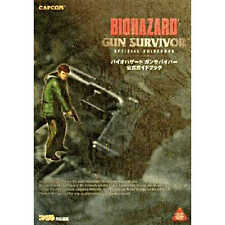 Used Resident Evil Biohazard Gun Survivor Official guide book From JAPAN