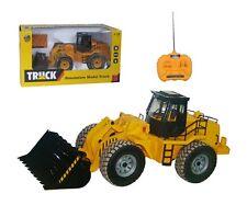 1/18 Grande 6 función RC Digger Camión NIÑO JCB construcción Digger Niño Navidad Juguete R