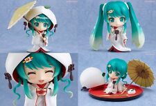 New Nendoroid 303 Character Vocal Series Snow Miku Strawberry White Kimono Ver.