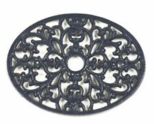 Multipack Offer – a Pair of Blue Heavy Duty Cast Iron Oval Kitchen Trivets