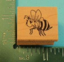New ListingBumble Bee Rubber Stamp by Embossing Arts Bug Insect Flower Garden