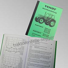 Fendt Betriebsanleitung  Favorit 600LS 610LS 611LS 612LSLS 615LS 500009