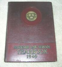 1949 Harvard Law School Yearbook