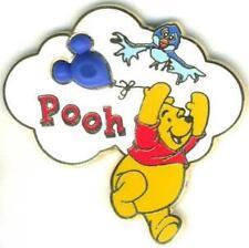 Disney Mickey Mouse Shaped Balloon Winnie the Pooh Pin