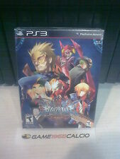 BLAZBLUE CONTINUUM SHIFT EXTEND LIMITED EDITION - SONY PS3 - NUOVO SIGILLATO NEW