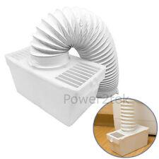 CONDENSATORE kit di sfiato scatola & Tubo flessibile per HOTPOINT tl72pe Asciugatrice montabile a parete