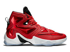 Nike Lebron XIII 13 Elite SZ 12 University Red White Black Cav Home 807219-610