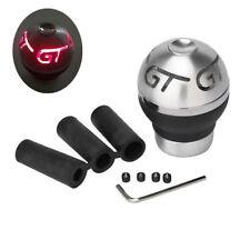 Red LED Flash Atmosphere light Gear Stick Shift Knob Car Aluminum Shifter Lever