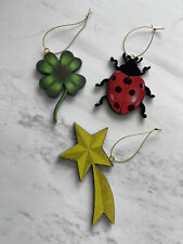 Diptyque 2019 Lucky Charms Christmas Holiday Ornaments Ladybug Clover Star