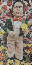 "VINTAGE 334 PIECE NON-INTERLOCKING WOODEN JIGSAW PUZZLE. ""TOM THUMB"""