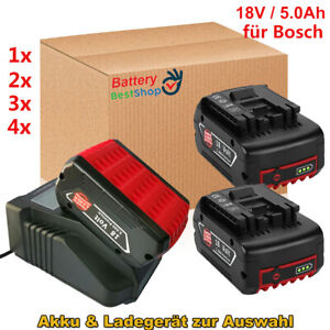 für Bosch Akku 18V 5Ah GBA Professional GSR GSB BAT609 BAT620 BAT618 2607337070