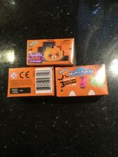 2x Shopkins Halloween Happy Places 3 Petkins Blind Pack With 3 Pets & 1 Tile