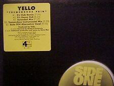"Yello Tremendous Pain 5 Mixes US Dj 12"""
