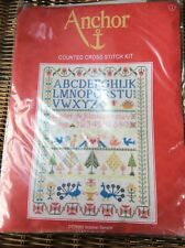 Anchor Counted Cross Stitch Kit - Victorian Sampler CC78962 2007 New