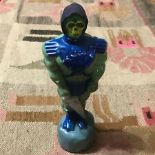 1983 MATTEL MOTU HE-MAN - SKELETOR SHAMPOO BOTTLE EMPTY MASTERS OF THE UNIVERSE
