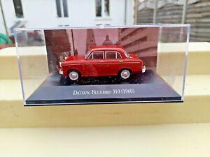 DATSUN BLUEBIRD 310  (1960) 1/43 RED 4in  Diecast Model Boxed