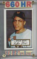 1983 Topps 1952 Reprint Series New York Giants Willie Mays,etc. Buy 1-Get 1 FREE