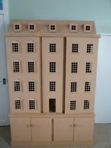 Dolls House Miniatures 1:12th MDF Mansion & Cabinet SALE! See Description!