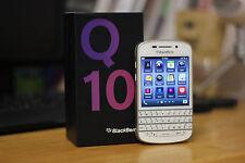 New BlackBerry Q10 Unlocked Net10 Tmobile Movistar Vodafone O2 Straight Talk ATT