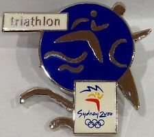 TRIATHLON SYDNEY OLYMPIC GAMES 2000 PIN COLLECT #599