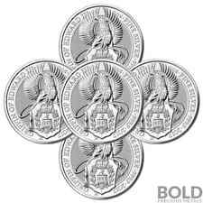 2017 Silver Great Britain Queen's Beasts (The Griffin) - 2 oz (5 Coins)