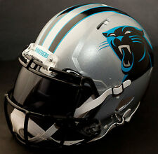 ***CUSTOM*** CAROLINA PANTHERS NFL Riddell Revolution SPEED Football Helmet