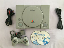 Beautiful Rare! Sony playstation Console SCPH-1000 Working OK 01/13