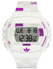 ADIDAS ADH6113 WHITE PURPLE MENS RESIN STRAP SPORT CHRONO VERY RARE SOLD OUT