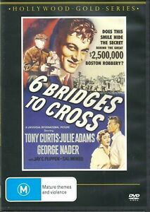 6 Bridges To Cross  - Tony Curtis New and Sealed DVD