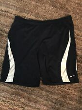 Nikes Men Basketball Casual Shorts Size XL blue/white 100% Authentic
