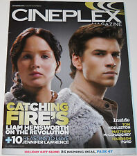 Cineplex Magazine Vol 14 No 11 November 2013 Catching Fire's Liam Hemsworth
