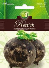 4250620 Rettich runder schwarzer Winterrettich  Samen