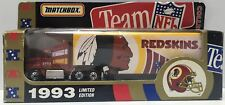 (TAS034728) - 1993 Tyco Toys Matchbox Team NFL Collectible - Redskins