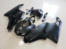 Matte Black Complete Fairing Injection Bodywork Kit for Ducati 749 999 2005 2006
