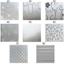 Home Bedroom Bath Glass Window Privacy Film Sticker PVC Frosted Decor 200x60CM