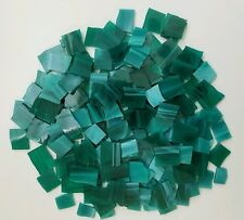 """174 Dark Green 1/2"""" Stained Glass Mosaic Tiles"""