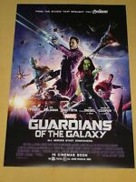 GUARDIANS OF THE GALAXY - Original Movie Poster D/S 2 Sided 27x40 INTL - MARVEL
