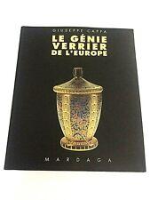 Genie Verrier de l'Europe - Glass genius of Europe, French book