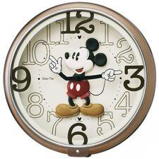 SEIKO CLOCK Wall Clock Mickey Mouse Analog Six Songs Melody FW576B Fast Shipping