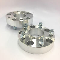 """5X127 2 5X5 TO 5X5 Wheel Spacers1//2/"""" Studs1/"""" Inch 25mmRubicon USED"""